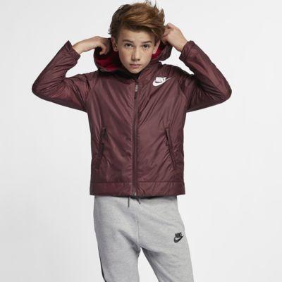 Chamarra para niños talla grande Nike Sportswear