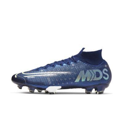 Купить Футбольные бутсы для игры на твердом грунте Nike Mercurial Superfly 7 Elite MDS FG, Blue Void/Белый/Черный/Серебристый металлик, 23739739, 12715434