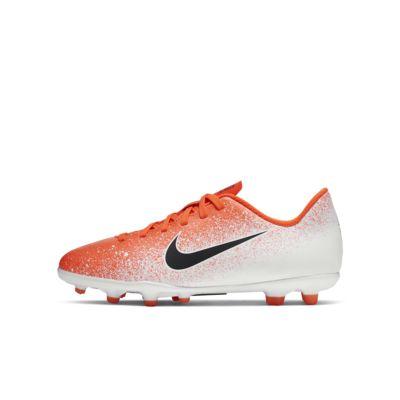 รองเท้าสตั๊ดฟุตบอลเด็กโตสำหรับพื้นหลายประเภท Nike Jr. Vapor 12 Club MG