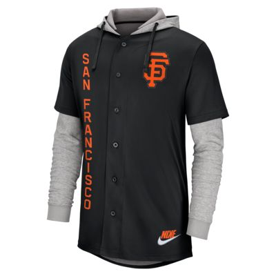 Nike (MLB Giants) Men's Hooded Baseball Jersey