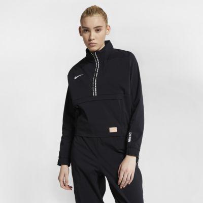 Nike F.C. Voetbaltop met lange mouwen voor dames