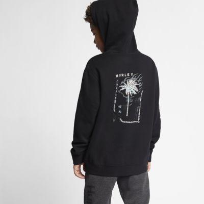 Felpa pullover in fleece con cappuccio Hurley Burn Baby - Bambino/Ragazzo
