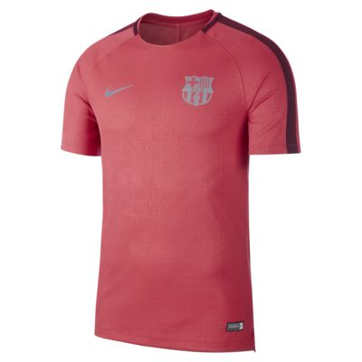 Haut de football à manches courtes FC Barcelona Dri-FIT Squad pour Homme