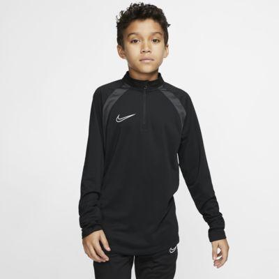 Nike Dri-FIT Academy-fodboldtræningstrøje til store børn