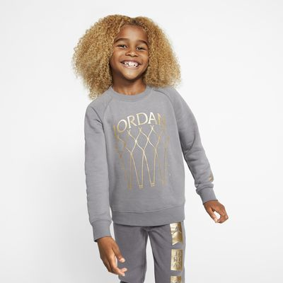 Jordan Jumpman Younger Kids' Fleece Crew