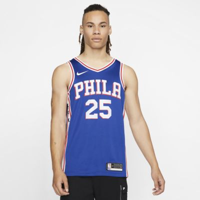 Maillot d'équipe Nike NBA Swingman Ben Simmons 76ers Icon Edition