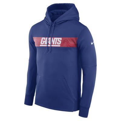 Nike Dri-FIT Therma (NFL Giants) Men's Pullover Hoodie