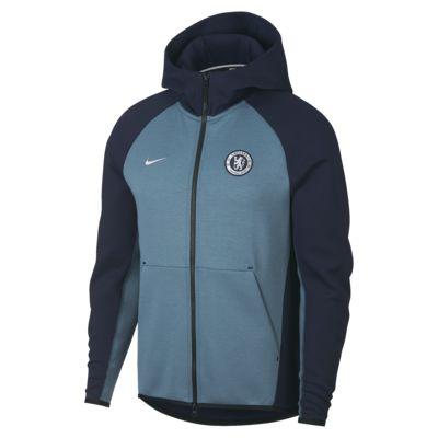 Chelsea FC Tech Fleece Men's Full-Zip Hoodie