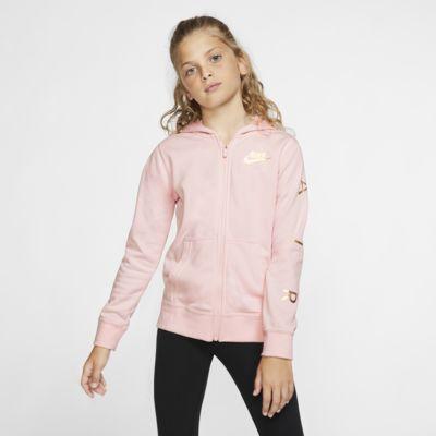 Nike Air Older Kids' (Girls') Full-Zip Fleece Hoodie