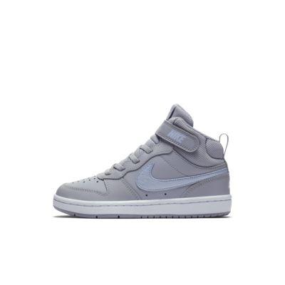 Nike Court Borough Mid 2 EP-sko til små børn