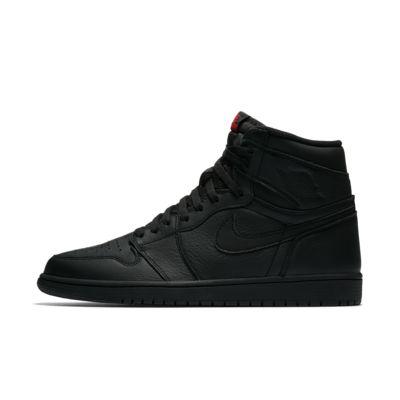 nike air jordan 1 all black