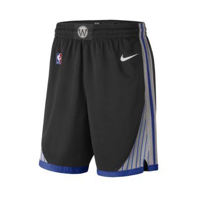 Warriors City Edition Nike NBA Swingman Shorts