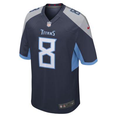 Мужское джерси для американского футбола NFL Tennessee Titans Game Jersey (Marcus Mariota)