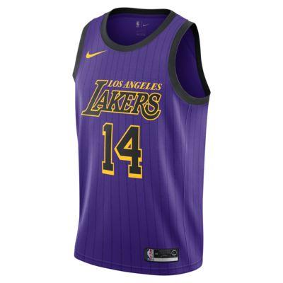 Brandon Ingram City Edition Swingman (Los Angeles Lakers) Men's Nike NBA Connected Jersey