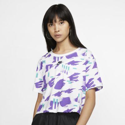T-shirt damski o krótkim kroju Nike Sportswear