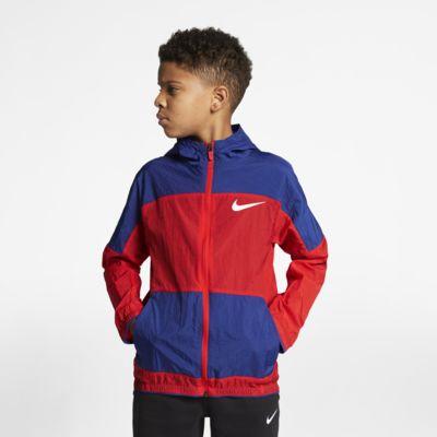 Nike Dri-FIT Big Kids' (Boys') Woven Training Jacket