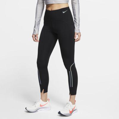 กางเกงวิ่งรัดรูปผู้หญิง 7 ส่วน Nike Speed