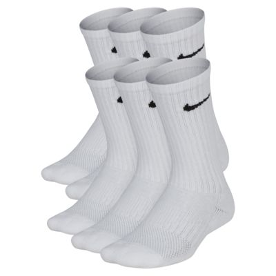 Nike Performance Cushioned Crew Kids' Training Socks (6 Pair)