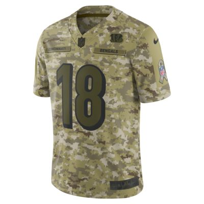NFL Cincinnati Bengals Salute to Service (AJ Green) Big Kids' Football Jersey