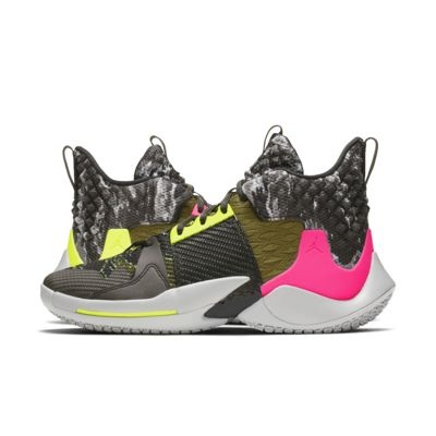 Jordan 'Why Not?' Zer0.2 Basketball Shoe