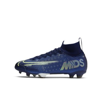 Calzado de fútbol para terreno firme para niños talla grande Nike Jr. Mercurial Superfly 7 Elite MDS FG