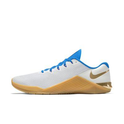 Personalizowane buty do treningu przekrojowego i podnoszenia ciężarów Nike Metcon 5 By You