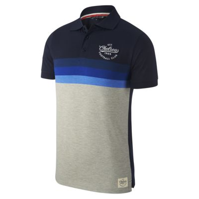 Polo Chelsea FC Marled Stripe - Hombre