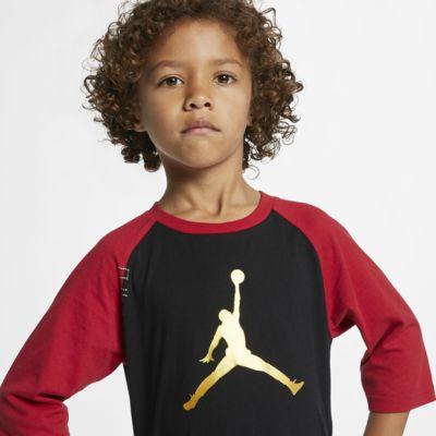 Jordan Jumpman CNY 幼童七分袖T恤