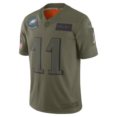NFL Philadelphia Eagles Limited Salute To Service (Carson Wentz) Men's Football Jersey