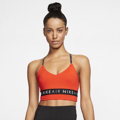 Спортивное бра с легкой поддержкой Nike Indy