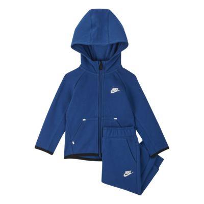 Nike Sportswear Tech Fleece Conjunto de sudadera con capucha y jogger - Bebé (12-24M)