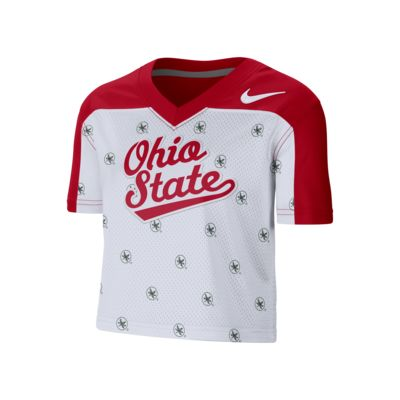 Nike College (Ohio State) Women's Cropped Jersey