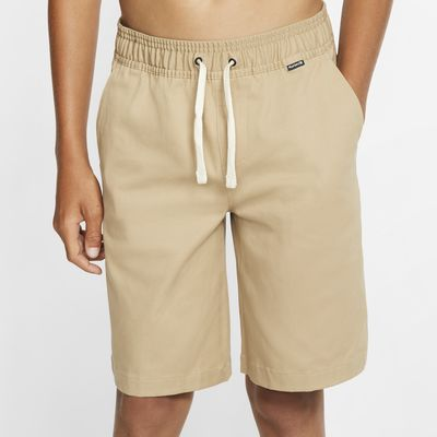 """Hurley One And Only Stretch Boys' 17.5"""" Chino Walkshorts"""