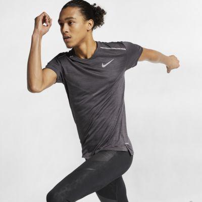 Nike TechKnit Ultra 男子短袖跑步上衣