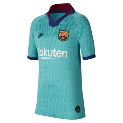 Maillot de football FC Barcelona 2019/20 Stadium Third pour Enfant plus âgé