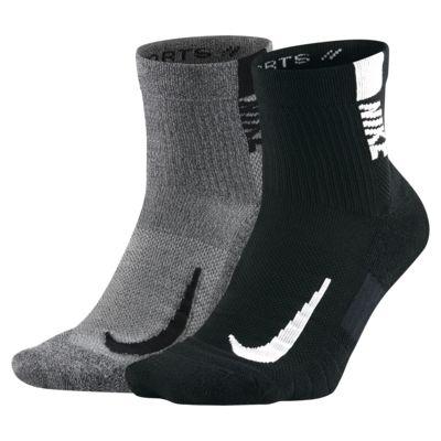 Nike Multiplier Ankle Socks (2 Pairs)
