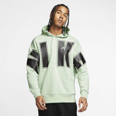 Nike Sportswear kapucnis polárpulóver