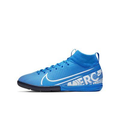 Calzado de fútbol para cancha cubierta para niños Nike Jr. Mercurial Superfly 7 Academy IC