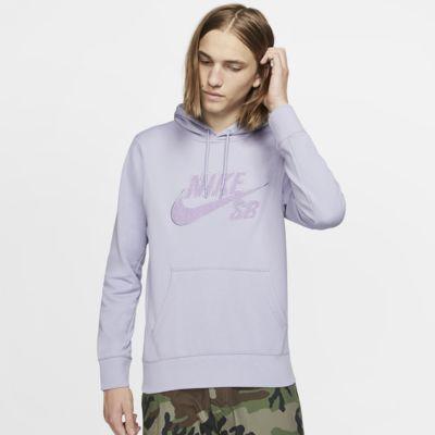Sudadera con capucha sin cierre de skateboarding para hombre Nike SB Icon