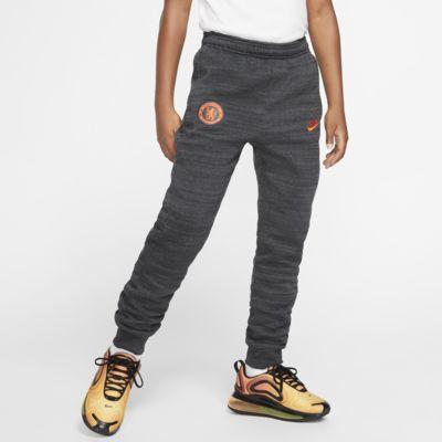 Pantalones de fútbol de tejido Fleece para niños talla grande Chelsea FC