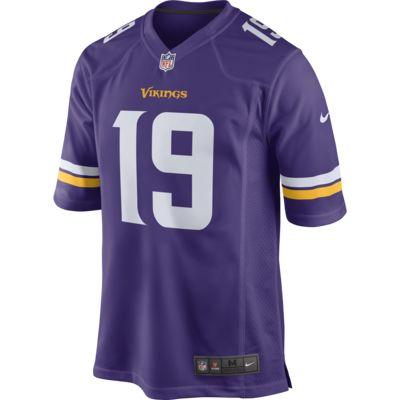 Camiseta de fútbol americano Game para hombre NFL Minnesota Vikings (Adam Thielen)