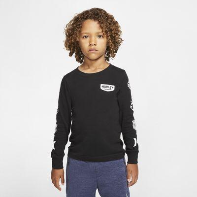 Hurley Patch Sleeve Kids' Long-Sleeve T-Shirt