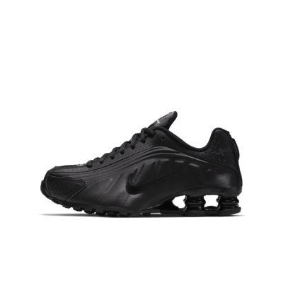 Nike Shox R4 sko til store barn