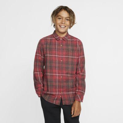 Hurley Vedder Washed Jongensshirt met lange mouwen