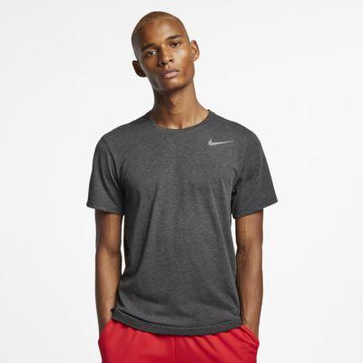 Kortärmad träningströja Nike Breathe för män