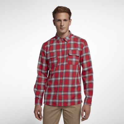 Hurley Dri-FIT Syd  Men's Woven Long-Sleeve Top
