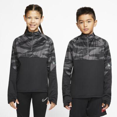 Fotbalové tréninkové tričko Nike Therma Shield Strike pro větší děti