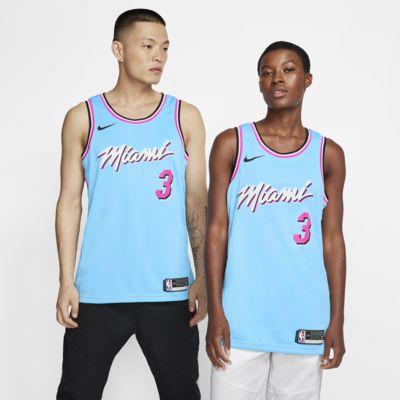 Maglia Dwyane Wade Heat – City Edition Swingman Nike NBA