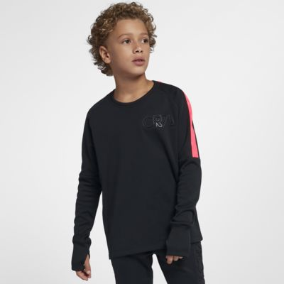 Nike Dri-FIT CR7 Langarm-Fußballoberteil für ältere Kinder (Jungen)
