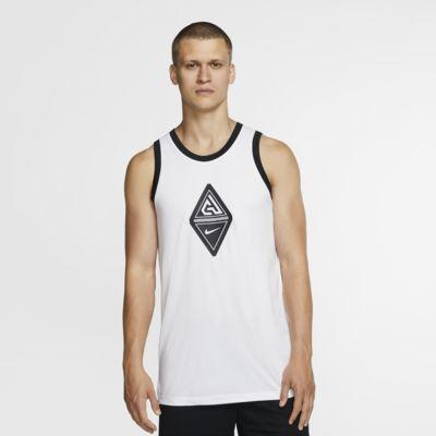 Giannis ujjatlan, logós férfi kosárlabdás trikó
